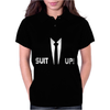 Inspired by How I Met Your Mother, Barney Suit Up Funny Womens Polo