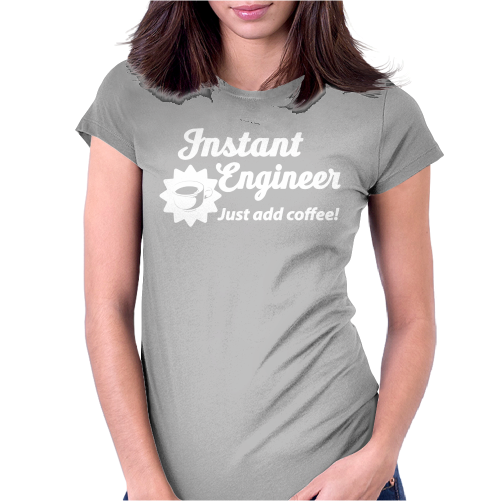 Instant Enginerd Womens Fitted T-Shirt