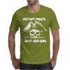 Instant Pirate Just Add Rum Funny Mens T-Shirt