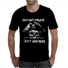Instant Pirate Just Add Rum Mens T-Shirt