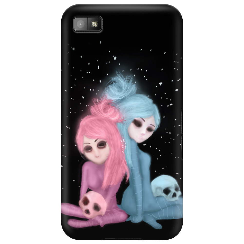 Intercosmic Christmas by Rouble Rust Phone Case