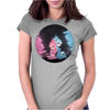 Intercosmic Christmas by Rouble Rust Womens Fitted T-Shirt