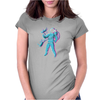 Intergalactic Cat Fancy Womens Fitted T-Shirt