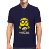 INTERNATIONAL RUGBY WORLD CUP 2015 MINIONS GRU T SHIRT T-SHIRT ENGLAND ENGLISH Mens Polo