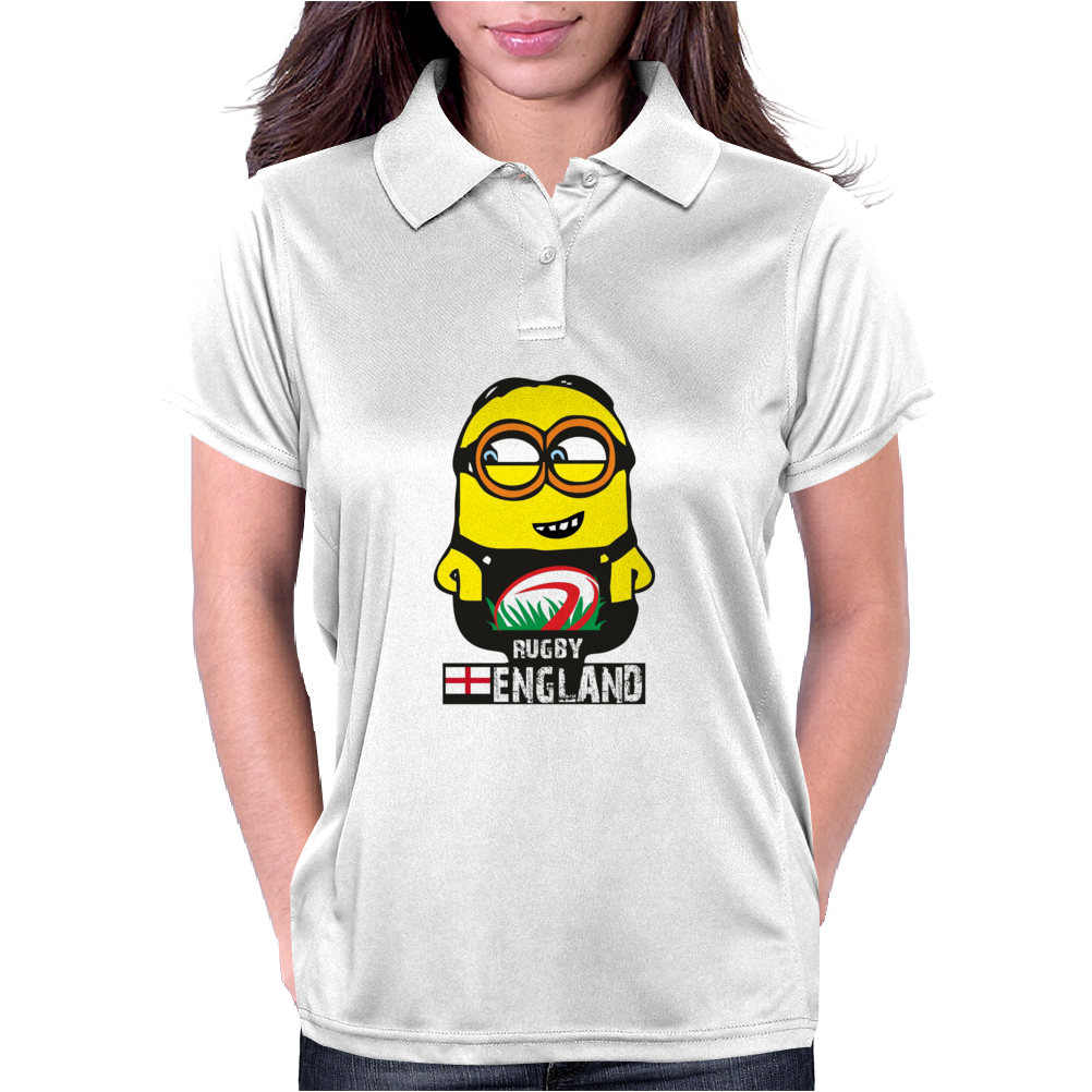 INTERNATIONAL RUGBY WORLD CUP 2015 MINIONS GRU T SHIRT T-SHIRT ENGLAND ENGLISH Womens Polo