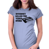 Internet Killed The Video Store Womens Fitted T-Shirt