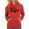 Internet Killed The Video Store Womens Hoodie