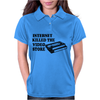 Internet Killed The Video Store Womens Polo