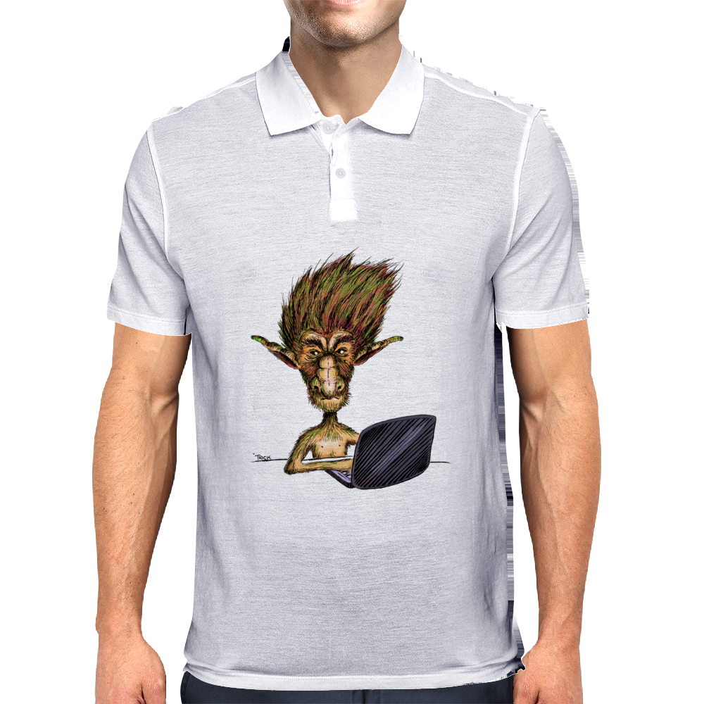 Internet Troll Mens Polo