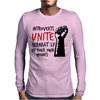 Introverts Unite Separately at Home Mens Long Sleeve T-Shirt