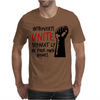 Introverts Unite Separately at Home Mens T-Shirt