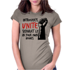 Introverts Unite Separately at Home Womens Fitted T-Shirt