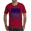 Introverts Unite! We're here, we're uncomfortable, and we want to go home Mens T-Shirt