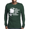 Invader Zim Dib Phrase 2 Mens Long Sleeve T-Shirt