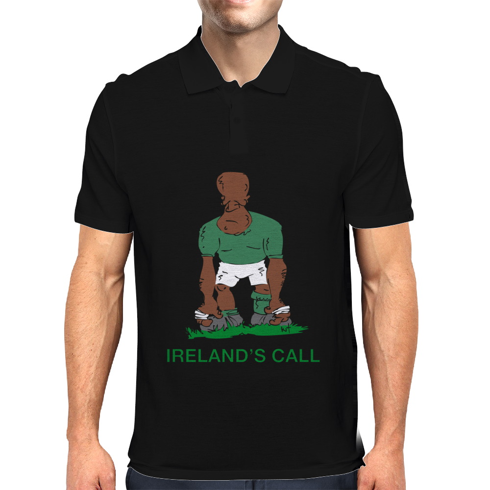 Ireland Rugby 2nd Row Forward World Cup Mens Polo