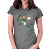 Ireland Rugby Back World Cup Womens Fitted T-Shirt