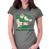 Ireland Rugby Forward World Cup Womens Fitted T-Shirt