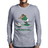 Ireland Rugby Kicker World Cup Mens Long Sleeve T-Shirt