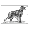 Irish Setter art Tablet (horizontal)
