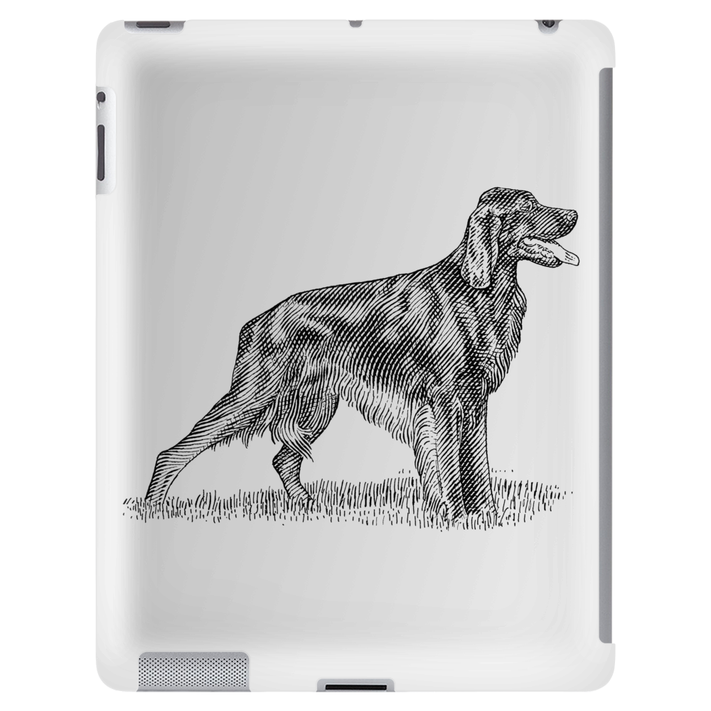 Irish Setter art Tablet (vertical)