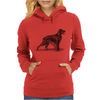 Irish Setter Dog Breed Womens Hoodie
