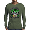Irish Skull Trio: Erin Go Home, Yer Drunk Mens Long Sleeve T-Shirt