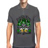 Irish Skull Trio: Erin Go Home, Yer Drunk Mens Polo