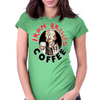 Iron Brewed Coffee Womens Fitted T-Shirt