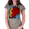IRON HELMET FOR LIFE Womens Fitted T-Shirt
