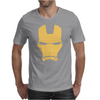 Iron Man Face Mens T-Shirt