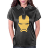 Iron Man Face Womens Polo