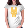 IRON MAN MASK AVENGERS MARVEL COMICS GIFT Womens Fitted T-Shirt