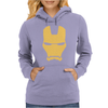IRON MAN MASK AVENGERS MARVEL COMICS GIFT Womens Hoodie