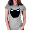 Iron Man Maske Helm Arc Reactor Comic Womens Fitted T-Shirt