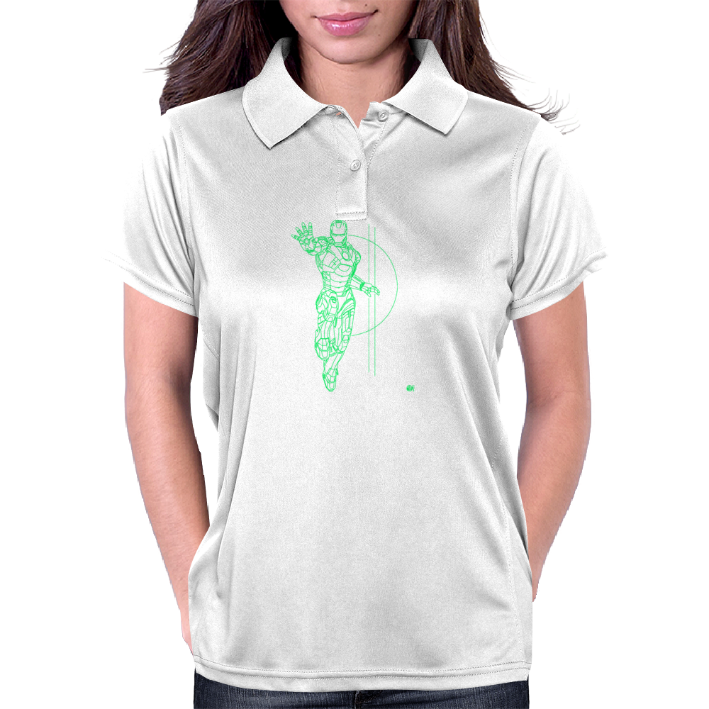 IRON MAN TECH Womens Polo