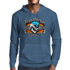 Ironworker Skull and Flaming Crossed Spud Wrenches 1 Mens Hoodie