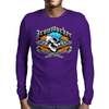 Ironworker Skull and Flaming Crossed Spud Wrenches 1 Mens Long Sleeve T-Shirt