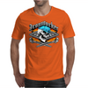 Ironworker Skull and Flaming Crossed Spud Wrenches 1 Mens T-Shirt