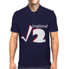 Irrational Numbers Mathematics Geek Square root of 2 Mens Polo