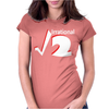 Irrational Numbers Mathematics Geek Square root of 2 Womens Fitted T-Shirt