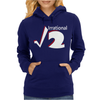 Irrational Numbers Mathematics Geek Square root of 2 Womens Hoodie