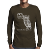 Irritable Owl Syndrome Mens Long Sleeve T-Shirt