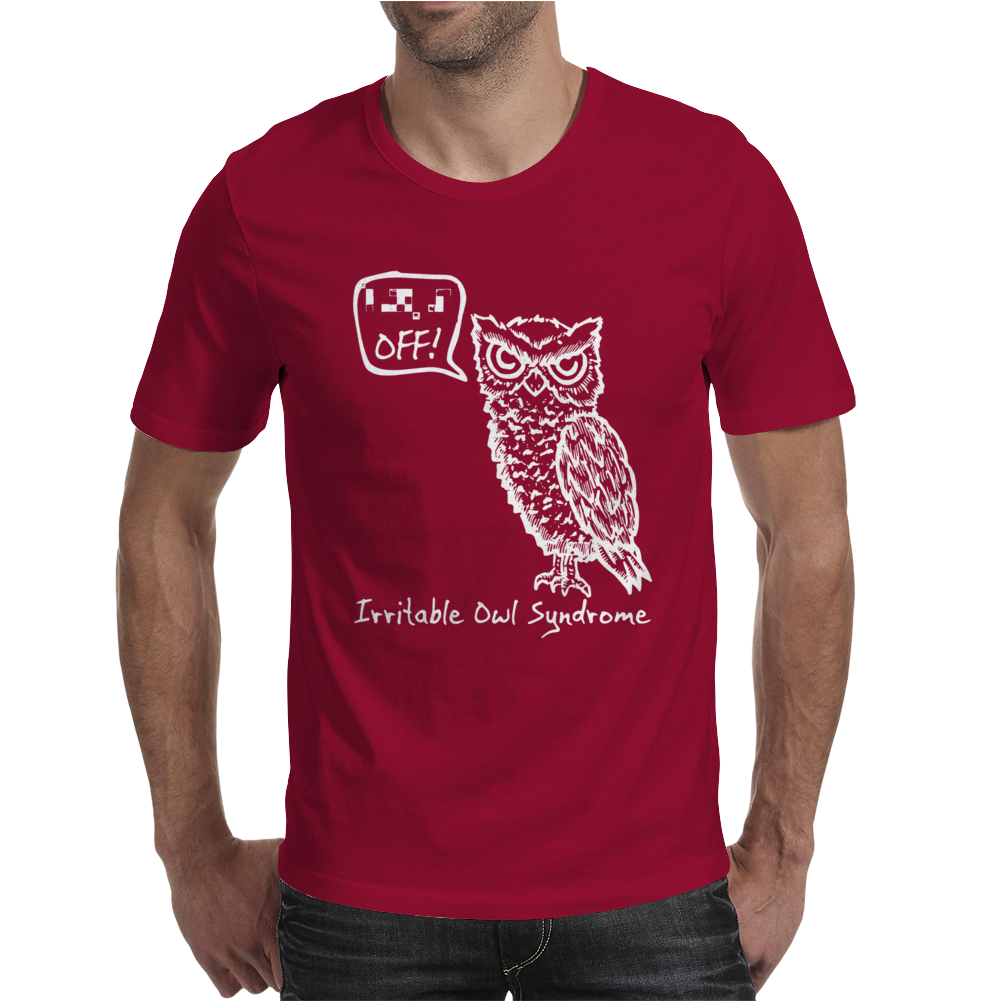 Irritable Owl Syndrome Mens T-Shirt