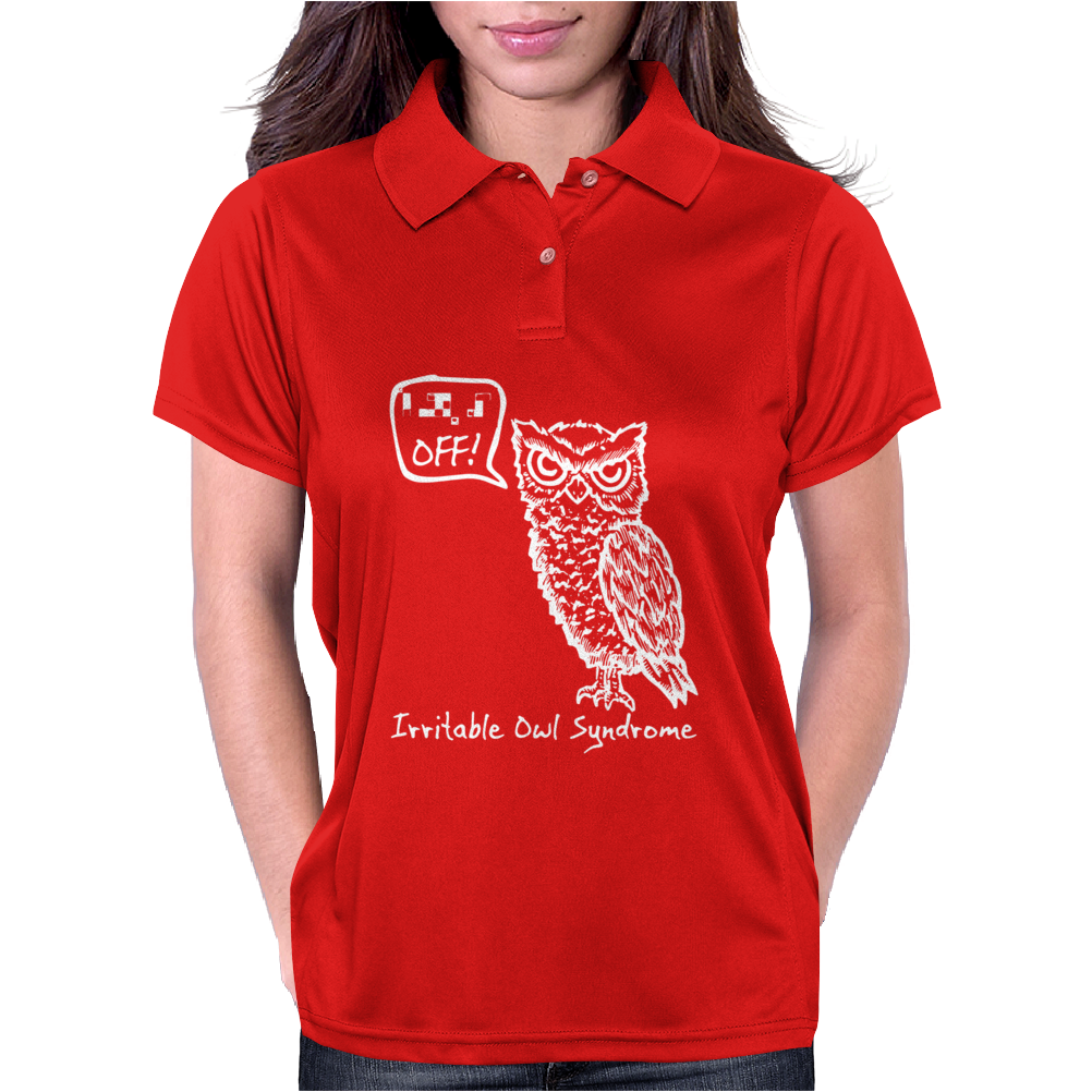 Irritable Owl Syndrome Womens Polo