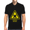 Irritant Chemical Symbol Laboratory Mens Polo