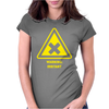 Irritant Chemical Symbol Laboratory Womens Fitted T-Shirt