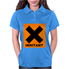 Irritant Symbol Joke Womens Polo