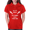 Is It Legal To Carry Guns This Big Womens Polo