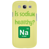 Is sodium healthy?  Periodic table design. Phone Case