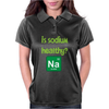 Is sodium healthy?  Periodic table design. Womens Polo